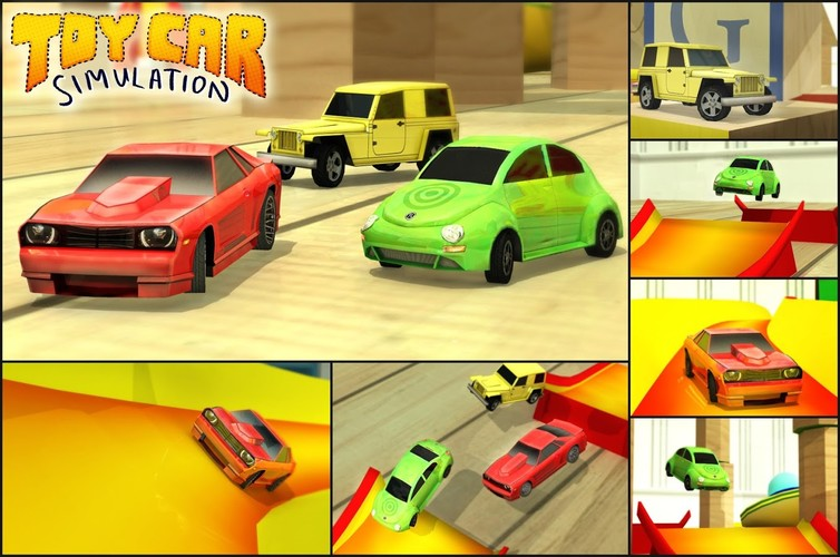 Free Toy Car Simulation cell phone game