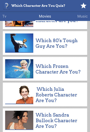 Which Character Are You Quiz? screenshot 5