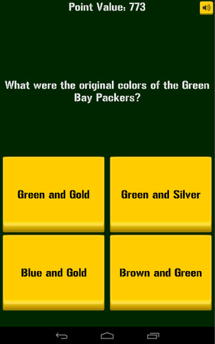Green Bay Packers Trivia screenshot 2
