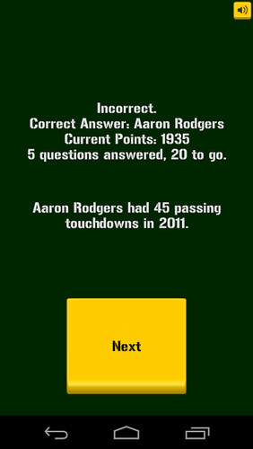 Green Bay Packers Trivia screenshot 4