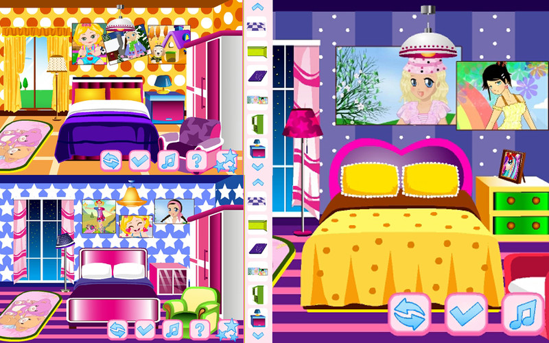 Free Dora Room Decoration cell phone game