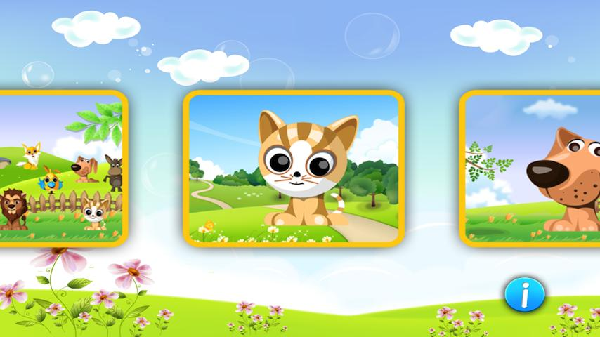 Free Animal Puzzle for Toddlers kid cell phone game
