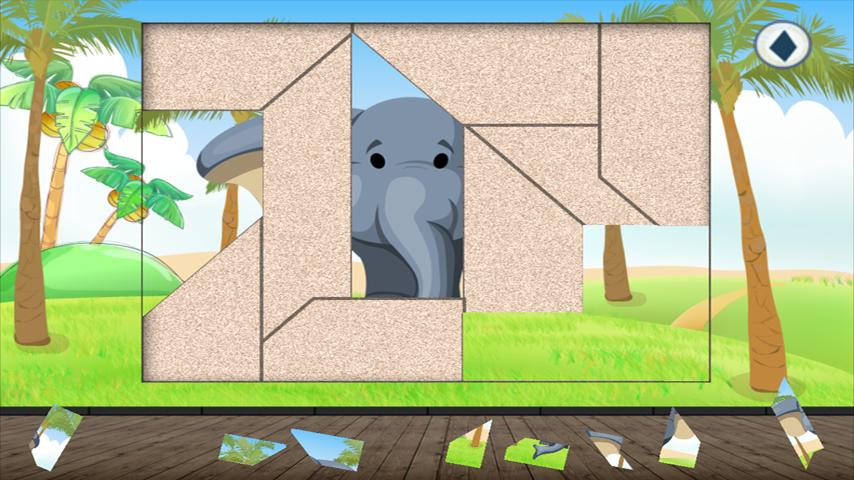 Animal Puzzle for Toddlers kid screenshot 5