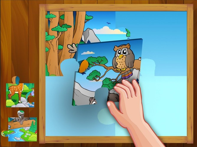 Free Animal Puzzle cell phone game