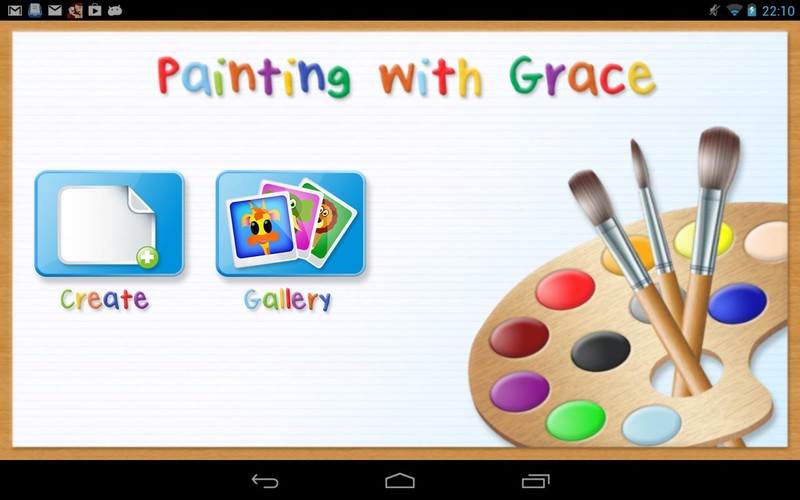 Free Painting With Grace cell phone game