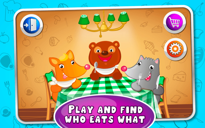Free Feed the Pets - kids game cell phone game