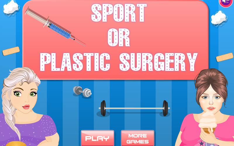Free Sport or Plastic Surgery cell phone game