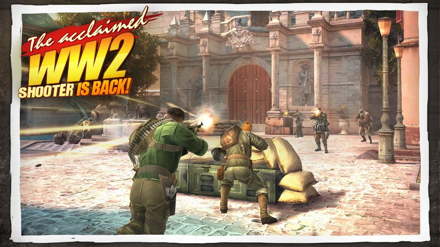 Free Brothers in Arms® 3 cell phone game