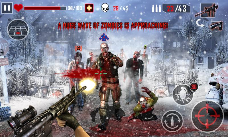 Free Zombie Killer cell phone game