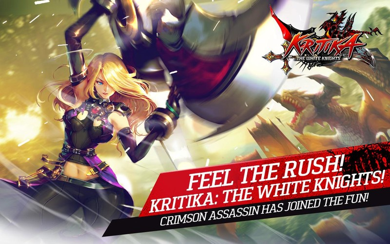 Free Kritika: The White Knights cell phone game