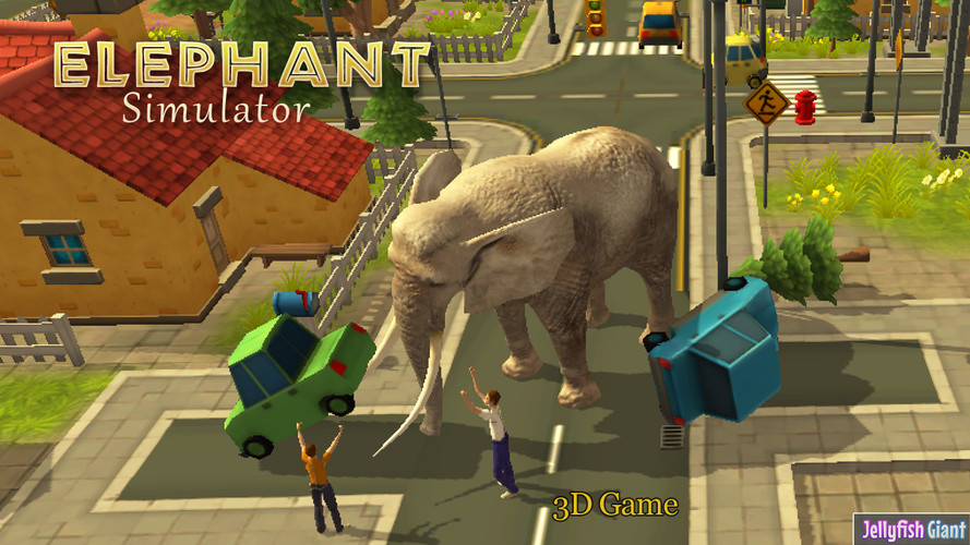 Free Elephant Simulator 3D cell phone game