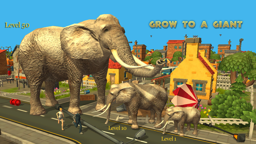 Elephant Simulator 3D screenshot 2