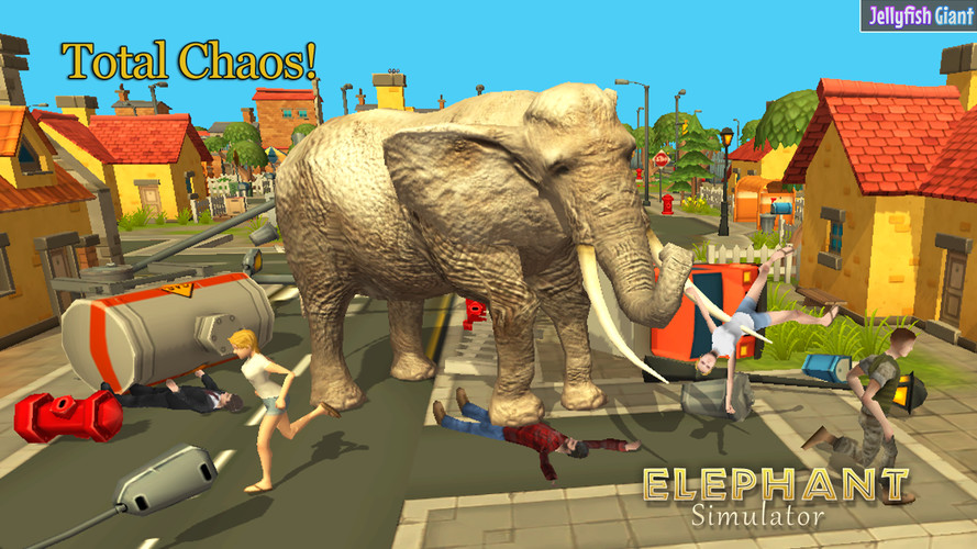 Elephant Simulator 3D screenshot 3
