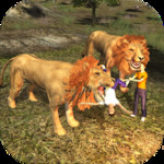 Lion Attack 3D Simulator