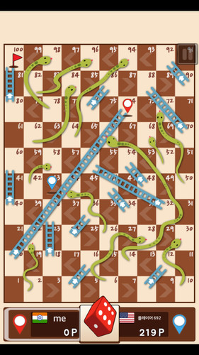 Free Snakes & Ladders King cell phone game