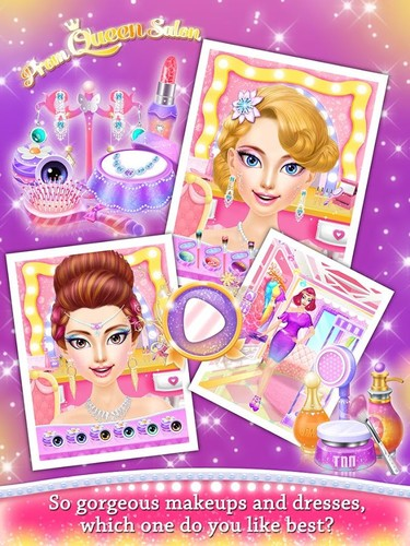 Prom Queen Salon - Girls Games screenshot 2
