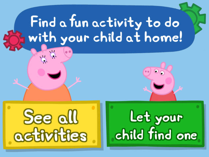 Free Peppas Activity Maker cell phone game