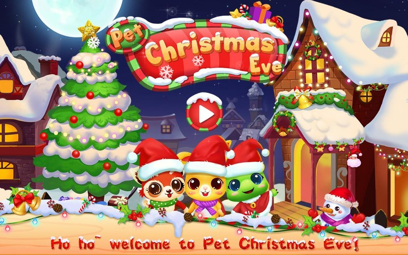 Free Pet Christmas eve cell phone game