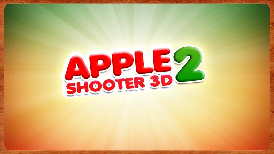 Free Apple Shooter 3D - 2 cell phone game