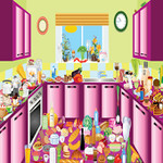Hidden Objects in Kitchen Game