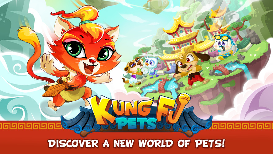 Free Kung Fu Pets cell phone game