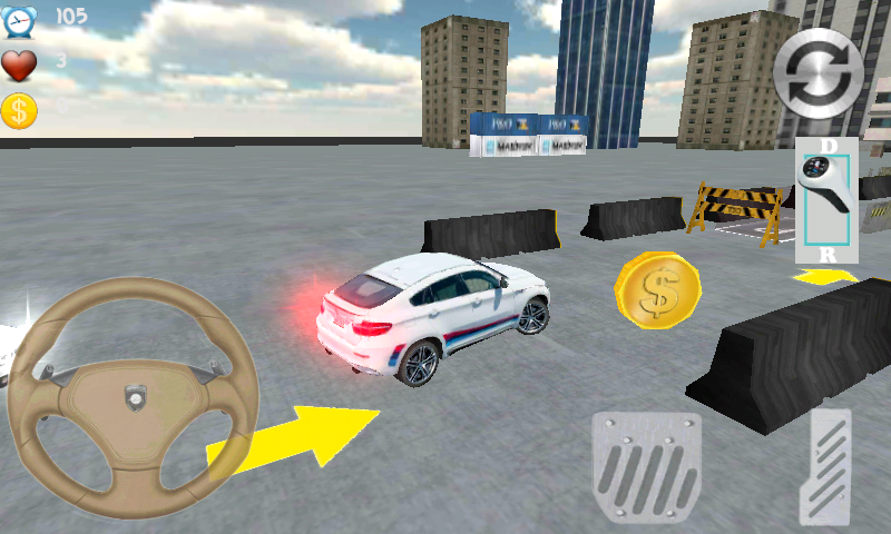 Free Speed Parking 3D cell phone game