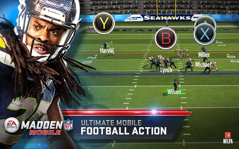 Free Madden NFL Mobile cell phone game
