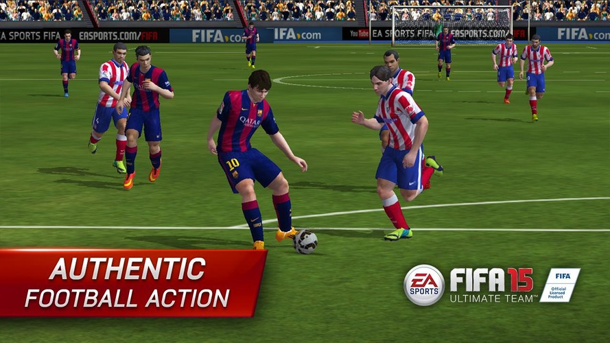 FIFA 15 Ultimate Team screenshot 5