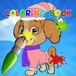 Coloring Book for Paw Patrol