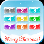 Kids game Christmas baby phone