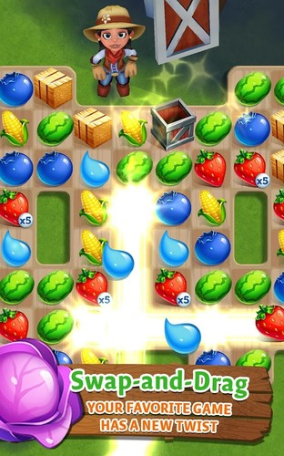 Free FarmVille: Harvest Swap cell phone game