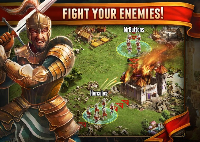Free Age of Lords cell phone game