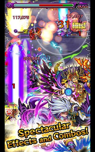 Free Monster Strike cell phone game