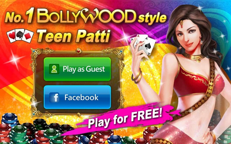 Free Bollywood Teen Patti - 3 Patti cell phone game
