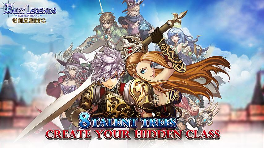 Free Fairy Legends cell phone game