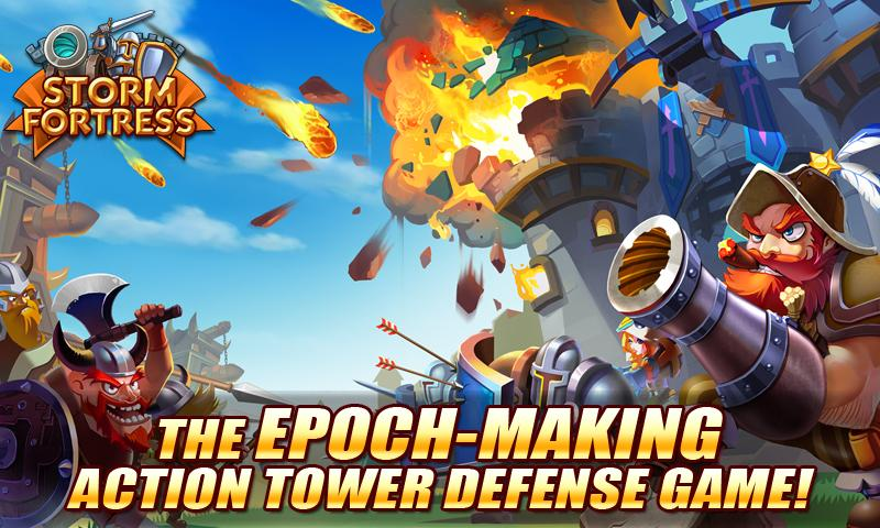 Free Storm Fortress : Castle War cell phone game