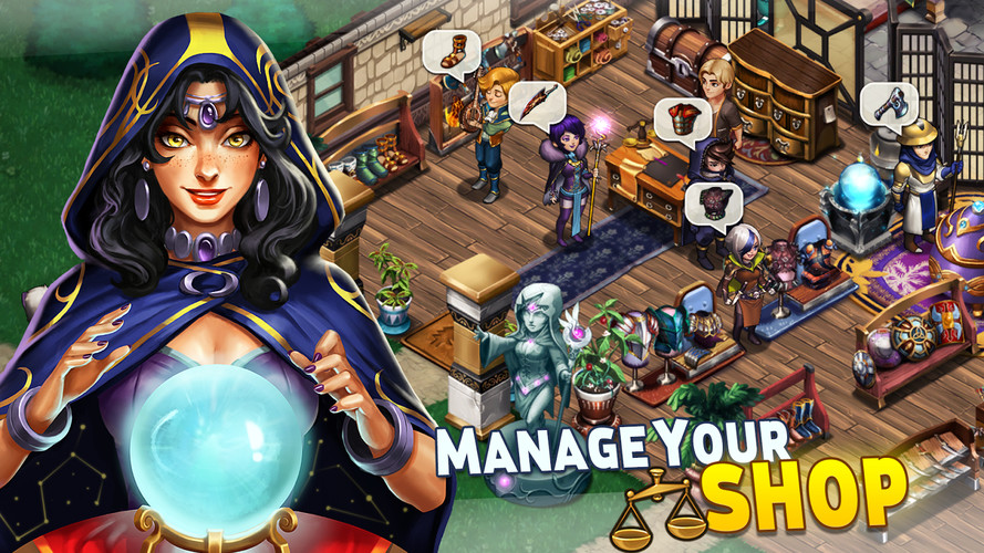 Free Shop Heroes cell phone game