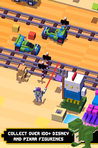 Free Disney Crossy Road cell phone game