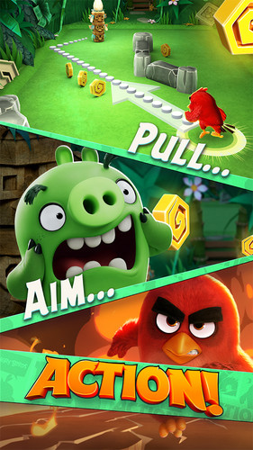 Free Angry Birds Action! cell phone game