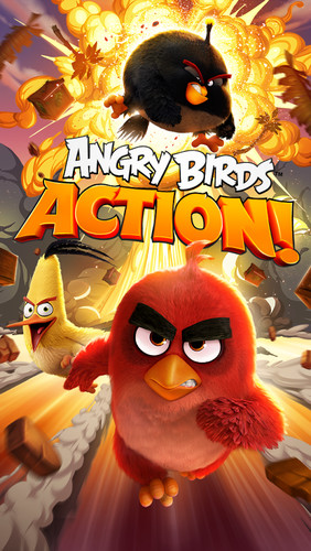 Angry Birds Action! screenshot 5