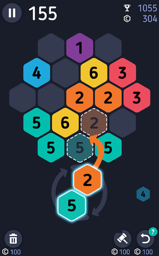 Free Make7! Hexa Puzzle cell phone game
