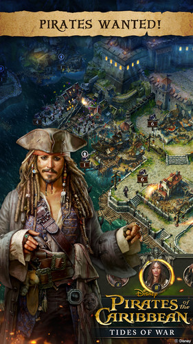Free Pirates of the Caribbean: ToW cell phone game
