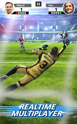 Free Football Strike - Multiplayer Soccer cell phone game