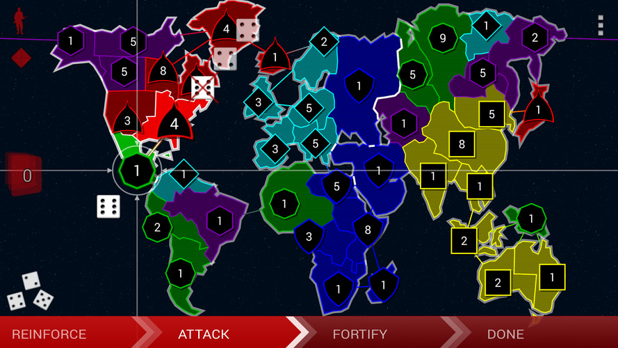 Border Siege [war & risk] screenshot 2
