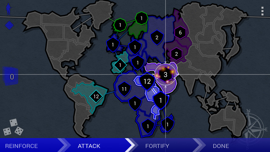 Border Siege [war & risk] screenshot 4