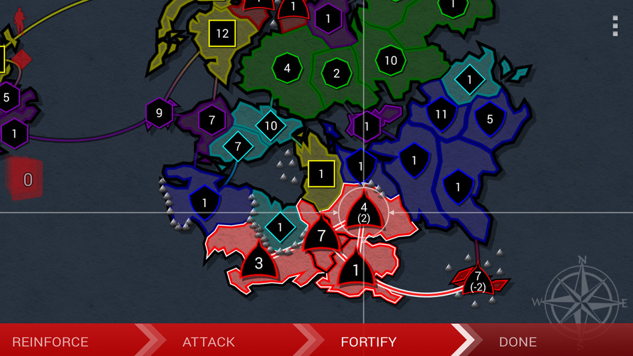 Border Siege [war & risk] screenshot 5