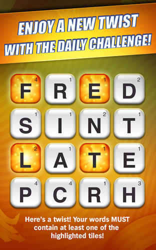 Scramble With Friends Free screenshot 3