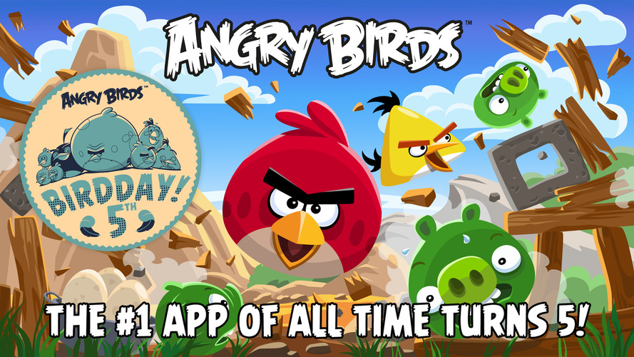 Free Angry Birds cell phone game