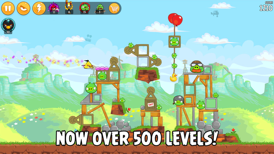 Angry Birds screenshot 5