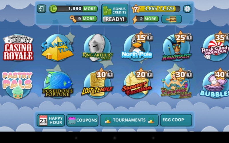 Free Slots Heaven HD: Slot Machines cell phone game